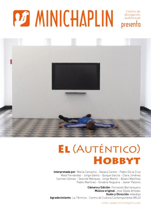 """Cartel oficial """"El auténtico hobbyt"""""""