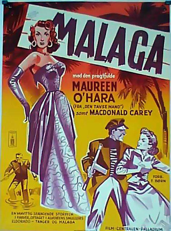 MALAGA CINEMA: Poster Fuego sobre África.